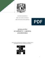 Estatuto Del Personal Academico de La Unam2