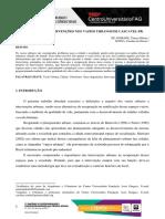 Propostas de Intervenções Nos Vazios Urbanos de Cascavel-pr.