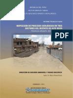 Inspeccion de Procesos Geologicos Distrito Alto Selva