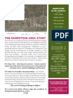 Hampstead Area Study