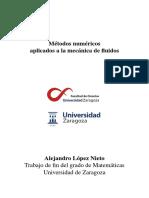 Métodos numéricos aplicados a la mecánica de fluidos