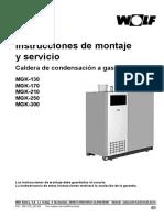 ManualMontaje MGK Instrucciones de Montaje y Servicio