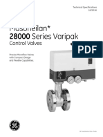 Microflow Valve & Actuator 27-28-GE-Masoneilan Technical Specification