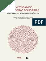 Investigando Economias Solidarias. Acercamientos teórico-metodológicos (2019)
