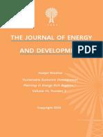 """Sustainable Economic Development Planning in Energy Rich Regions"" by  Hodjat Ghadimi"