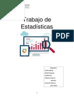 Trabajo de Estadísticas