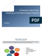 Enterprise Case Study - Adopting an SD-WAN Enabled Network [2017]