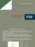 Condensadores o Capacitores