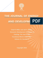 """Economic Development Strategies for Fracking"