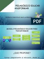 Modelo Pedagogico Educar Para Transformar1
