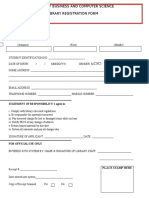 New Registration Form Library