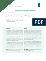 Desafíos Para El Desarrollo de La Red Vial Terciaria en El Posconflicto