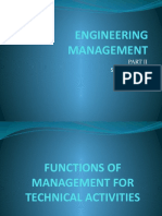Engineering Management Part II