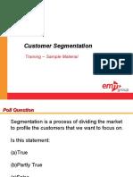 Customer Segmentation Sample Materials v1 Ssd 100110