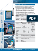 Vehicle Exhaust Gas Analyser