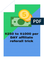 $50-$1000 - PER DAY Autopilot Method - FREE