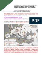 COMENTARIO CRONOLÓGICO 1º Península Ibérica y Mediterráneo, Del 5000 Al 2200 a.C. ANGEL GÓMEZ-MORÁN SANTAFÉ
