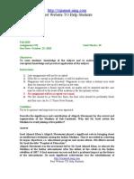 PAK301 Pakistan Studies Assignment