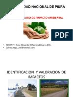 Identificacion y evaluacion de impactos