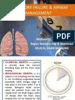 Respiratory Failure & Airway Management