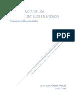 Importancia de Los Biocombustibles en Mexico
