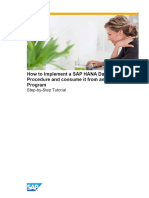 SAP HANA Proocedures in ABAP