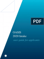 OASIS User Guide Intake 2020_Applicant