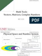 Lec2 Mathematical Tools VectorComplexNumber