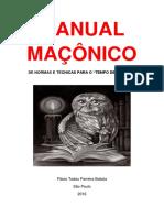 MANUAL MAÇÔNICO DE NORMAS E TÉCNICAS PARA O TEMPO DE ESTUDOS.pdf