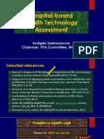 Hospital-based Health Technology Assessment - Prof. Sudigdo Sastroasmoro.pptx