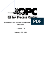 OPC HDA 10 Automation Interface