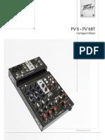 Peavey PV6 Manual