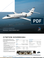 Cessna Citation Sovereign+ Product Card