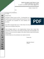 Contoh Application Letter-Tolan Tiga