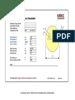 Perf Plate Calc1