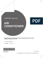 Owners Manual - Split Unit