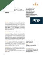 Utilidad del índice CROP como marcador pronóstico de extubación exitosa