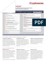 Cryptosense Analyzer Data Sheet