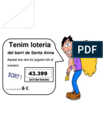 Cartell Loteria