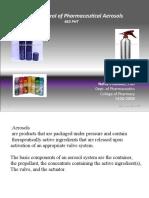 463 PHT Quality Control of Pharmaceutical Aerosols