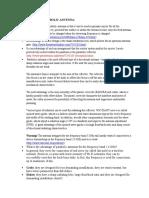 Advantages and Disadvantages of Parabolic Antenna.