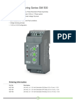 Voltage Monitoring Series SM 500