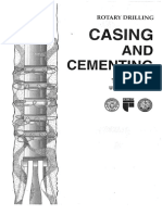 Unit 2 Lesson 4 Casing and Cementing