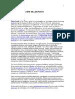 Reading Text Public Health 1