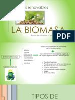 Presentación sobre La Biomasa