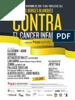 Cartell Elena 17n Cancer Infantil 03