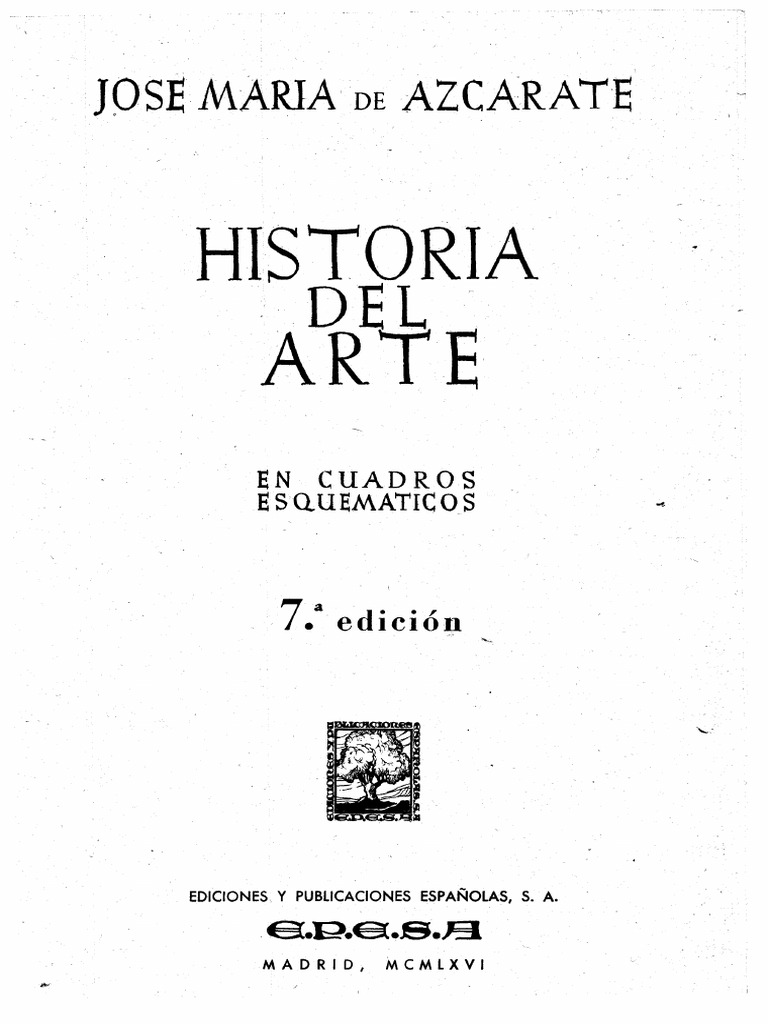 5fda2c5365d50c AZCARATE 1966 Historia Del Arte Cuadros Esquematicos