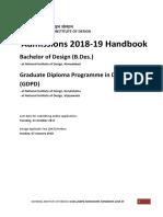 HandBook2018_19_BDes