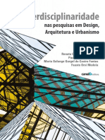 Interdisciplinaridade arquitetura e design UNESP