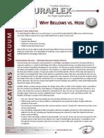 white bellows vs hoses